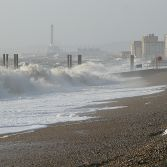 Rough Sea at Brighton