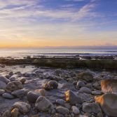 Osmington Mills Beach Pebbles Sunrise