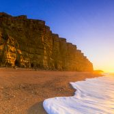 West Bay Cliffs Sunrise
