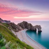 Stunning Spring Sunrise at Durdle Door