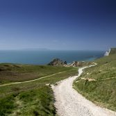The path to Durdle Door