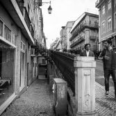 The Streets of Lisbon 1 B&W