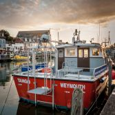 Weymouth Harbour Boats 1 of 3